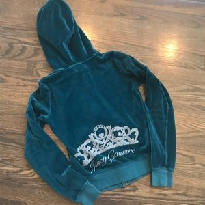 Girls Juicy Couture Hoodie Zip up sweatshirt